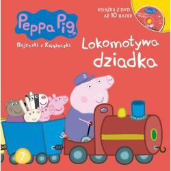 LOKOMOTYWA DZIADKA ŚWINKA PEPPA BAJECZKI Z KSIĄŻECZKI 7 + DVD