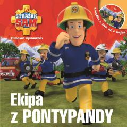 EKIPA Z PONTYPANDY STRAŻAK SAM KSIĄŻKA + DVD