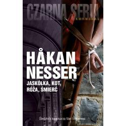 JASKÓŁKA KOT RÓŻA ŚMIERĆ Hakan Nesser