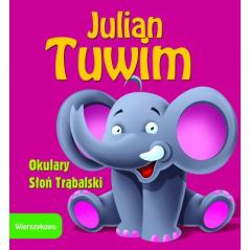 OKULARY SŁOŃ TRĄBALSKI Julian Tuwim (SZTYWNIACZEK)