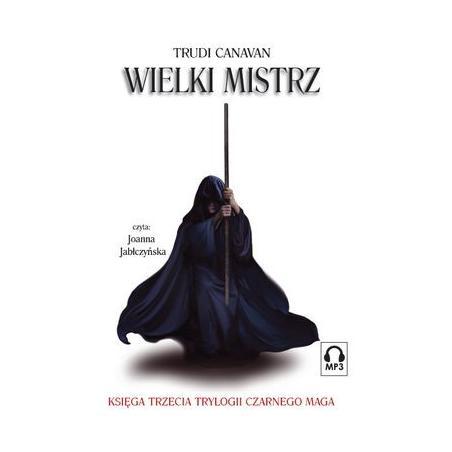 WIELKI MISTRZ TRYLOGIA CZARNEGO MAGA  TRUDI CANAVAN AUDIOBOOK CD MP3
