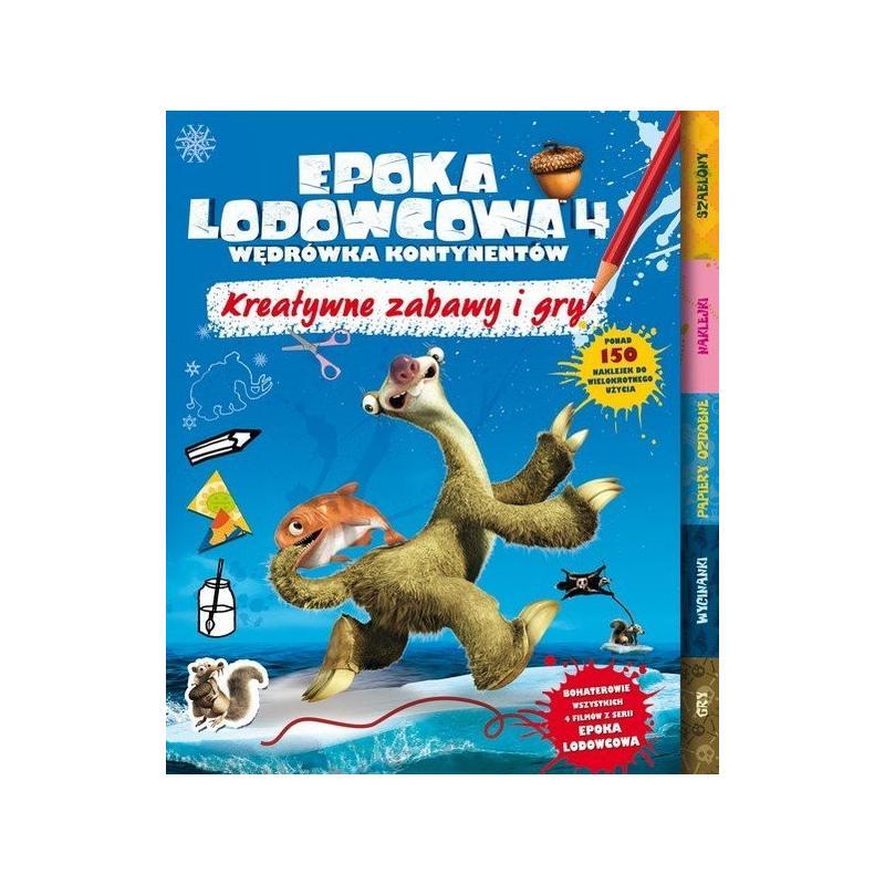 EPOKA LODOWCOWA KREATYWNE ZABAWY I GRY PONAD 150 NAKLEJEK