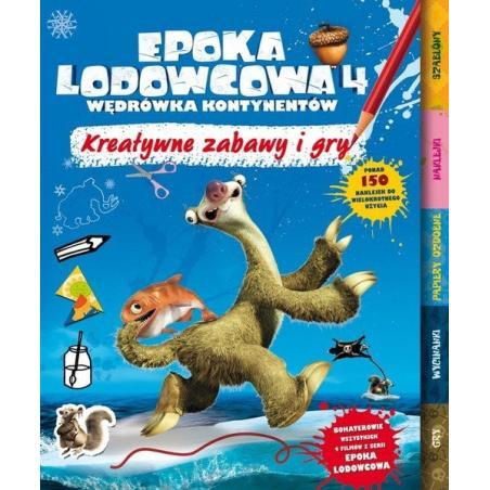 EPOKA LODOWCOWA KREATYWNE ZABAWY O GRY PONAD 150 NAKLEJEK