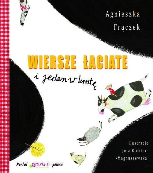 Wiersze łaciate I Jeden W Kratę Agnieszka Frączek Skladnicaksiegarskapl
