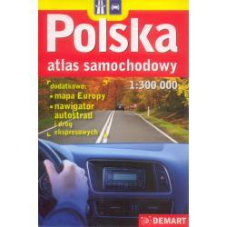 POLSKA ATLAS SAMOCHODOWY 1: 300 000