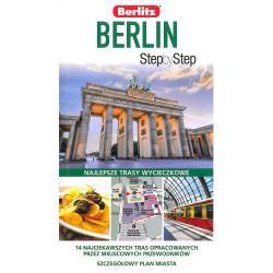 BERLIN PRZEWODNIK ILUSTROWANY + PLAN MIASTA STEP BY STEP Scheunemann Jurgen