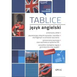 TABLICE JĘZYK ANGIELSKI Jacek Paciorek, Małgorzata Dagmara Wyrwińska, Małgorzata Brożyna