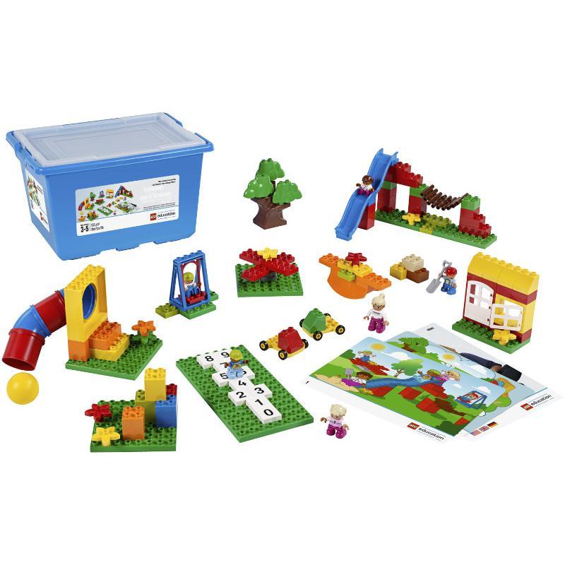 KOCKI LEGO EDUCATION DUPLO 104 EL. PLAC ZABAW 45001