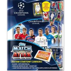 UEFA MATCH ATTAX ZESTAW STARTOWY LIGA MISTRZÓW ZESTAW STARTOWY
