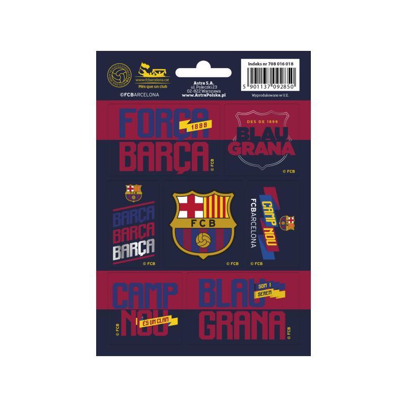NAKLEJKI FC BARCELONA BARCA FAN 4