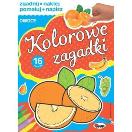 KOLOROWE ZAGADKI OWOCE Piotr Kozera