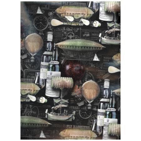 PAPIER OZDOBNY PREZENTOWY ARKUSZ 99,5 x 68,5 cm