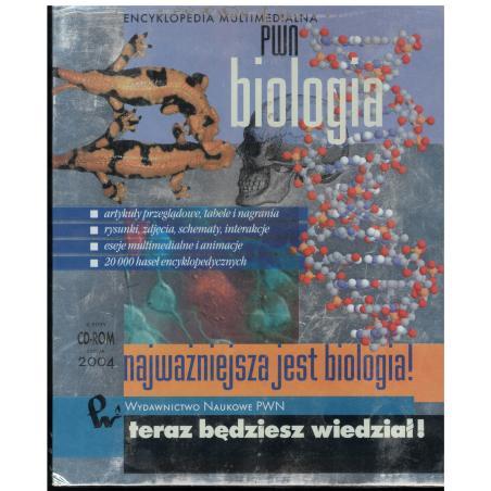 BIOLOGIA ENCYKLOPEDIA MULTIMEDIALNA (CD ROM)