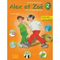 ALEX ET ZOE 2 JĘZYK FRANCUSKI  PODRĘCZNIK SZKOŁA PODSTAWOWA Colette Samson