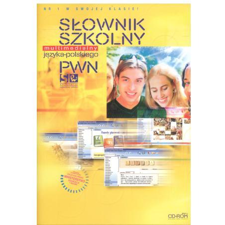 SZKOLNY SŁOWNIK JĘZYKA POLSKIEGO PWN MULTIMEDIALNY  CD-ROM