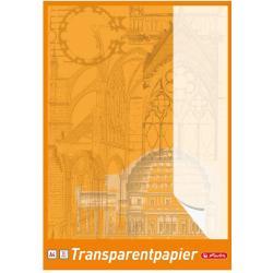 KALKA KREŚLARSKA A4 30 KARTEK PAPIER TRANSPARENTNY