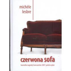 CZERWONA SOFA Michele Lesbre