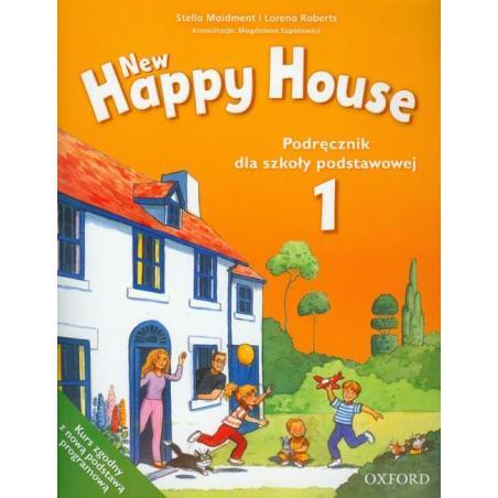 JĘZYK ANGIELSKI NEW HAPPY HOUSE 1 PODRĘCZNIK EDUKACJA WCZESNOSZKOLNA Roberts, Lorena