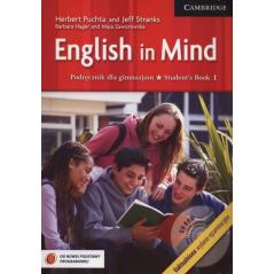 JĘZYK ANGIELSKI ENGLISH IN MIND 1 PODRĘCZNIK Herbert Puchta, Jeff Stranks