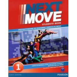 JĘZYK ANGIELSKI NEXT MOVE 1 PODRĘCZNIK + EXAM TRAINER.