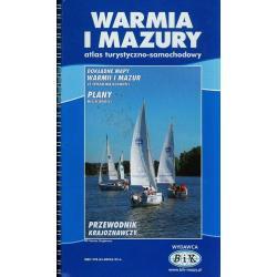 WARMIA I MAZURY ATLAS TURYSTYCZNO-SAMOCHODOWY