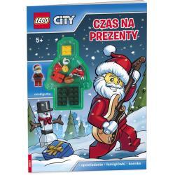 LEGO CITY. CZAS NA PREZENTY OPOWIADANIE ŁAMIGŁÓWKI KOMIKS 5+