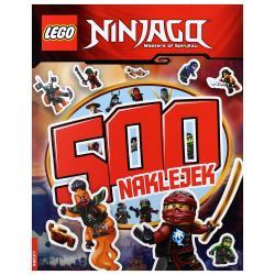 LEGO NINJAGO 500 NAKLEJEK 5+