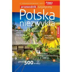 POLSKA NIEZWYKŁA PRZEWODNIK ILUSTROWANY + ATLAS 20018/2019