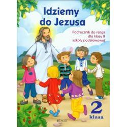 IDZIEMY DO JEZUSA 2 PODRĘCZNIK + CD Kurpiński Dariusz Snopek Jerzy