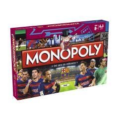 MONOPOLY FC BARCELONA GRA PLANSZOWA 8+