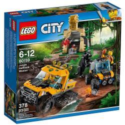 MISJA PÓŁGĄSIENICOWEJ TERENÓWKI LEGO CITY 60159