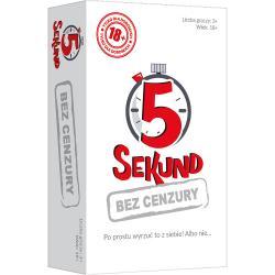 5 SEKUND BEZ CENZURY GRA TOWARZYSKA 18+