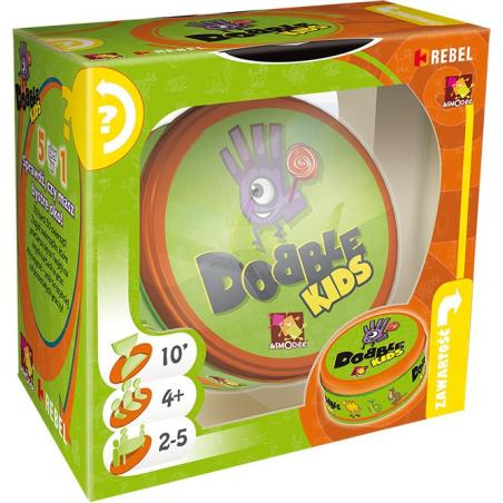 DOBBLE KIDS GRA LOGICZNA 4+