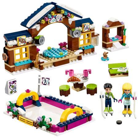 LODOWISKO W  ZIMOWYM KURORCIE LEGO FRIENDS 41322