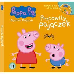 ŚWINKA PEPPA. PRACOWITY PAJĄCZEK. DVD