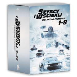 SZYBCY I WŚCIEKLI KOLEKCJA FILMOWA 1-8 FILM 8 X DVD