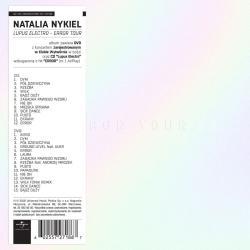 LUPUS ELECTRO ERROR TOUR (CD/DVD) Natalia Nykiel