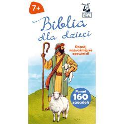KAPITAN NAUKA BIBLIA DLA DZIECI POZNAJ NAJWAŻNIEJSZE OPOWIEŚCI 7+