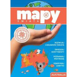 MAPY ŚWIATA AUSTRALIA