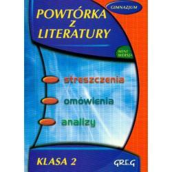 POWTÓRKA Z LITERATURY GIMNAZJUM Włodarczyk Barbara