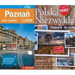 POLSKA MAPA SAMOCHODOWA + POLSKA NIEZWYKŁA PRZEWODNIK DLA KAŻDEGO