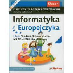 INFORMATYKA EUROPEJCZYKA  4. ĆWICZENIA Danuta Kiałka, Katarzyna Kiałka