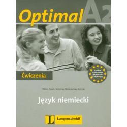 OPTIMAL A2 JĘZYK NIEMIECKI ĆWICZENIA + CD Paul Rusch Martin Muller