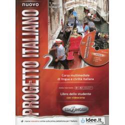 NUOVO PROGETTO ITALIANO 2 PODRĘCZNIK + DVD ROOM Sandro Magnelli Telis Marin