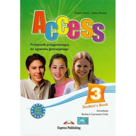 ACCESS 3 STUDENT'S BOOK + CD Virginia Evans, Jenny Dooley