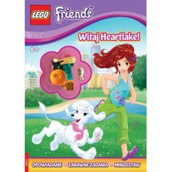 LEGO FRIENDS. WITAJ, HEARTLAKE! + MINIFIGURKA