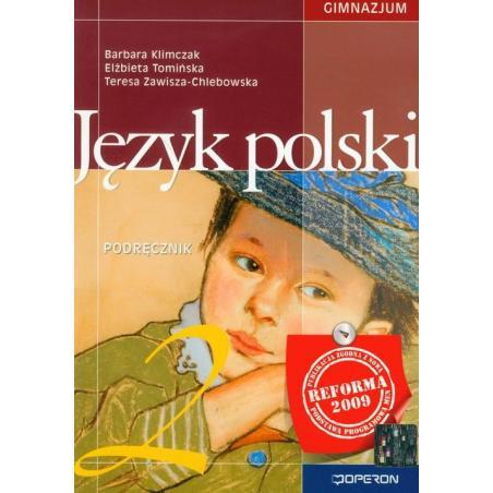 JĘZYK POLSKI 2 PODRĘCZNIK  Barbara Klimczak