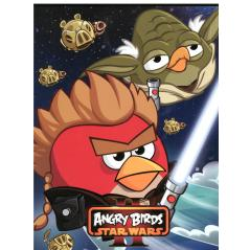 ZESZYT A5/16 KARTEK W KRATKĘ BEZ MARGINESU ANGRY BIRDS STAR WARS II