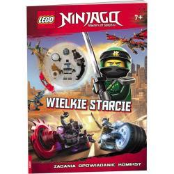 LEGO NINJAGO WIELKIE STARCIE ZADANIA OPOWIADANIE KOMIKSY + FIGURKA
