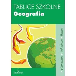 TABLICE SZKOLNE GEOGRAFIA GIMN LO / 2014